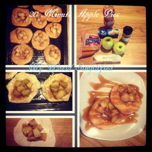Mini Caramel apple pies c