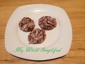 Brownie Crackles Cookies