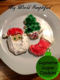 Supreme Sugar Cookies