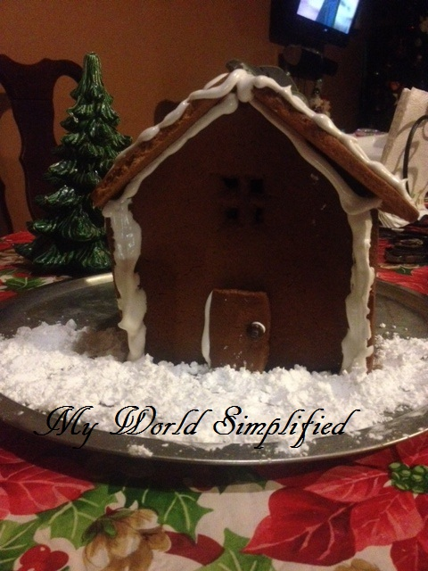ginger bread house dough