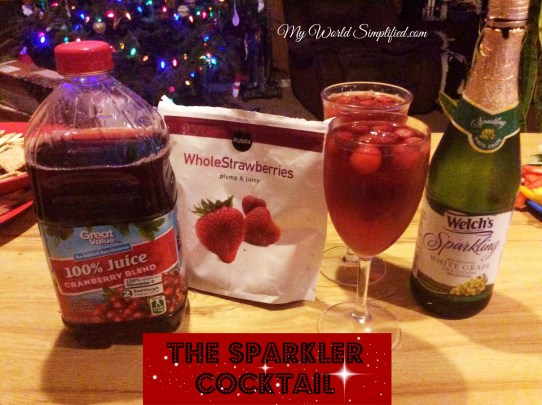 The Sparkler cocktail