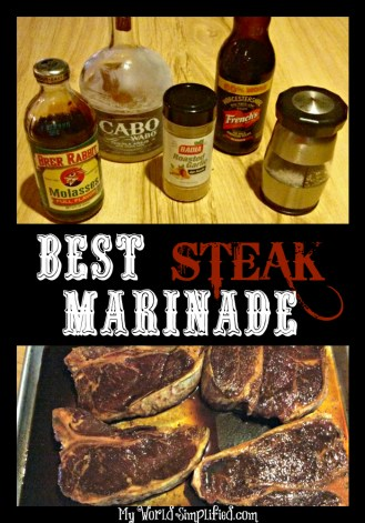 Tequila Steak Marinade