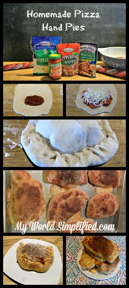 Homemade Pizza Hand Pies