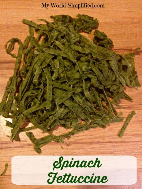 Spinach Fettuccine