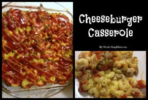 Cheeseburger Casserole #Recipe