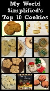 Top 10 Homemade Cookies from My World Simplified