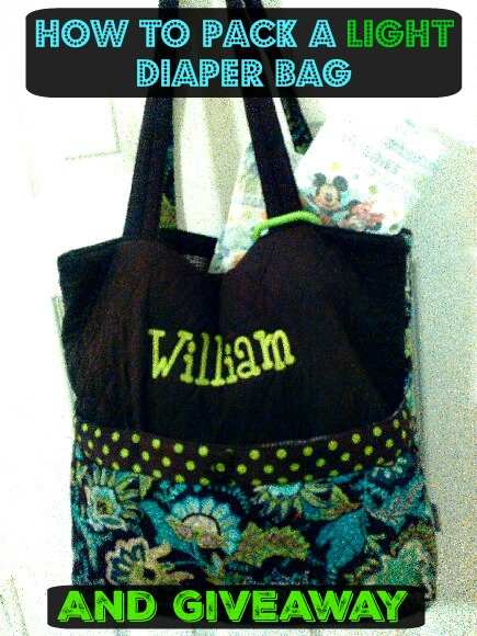 William Diaper bag Huggies