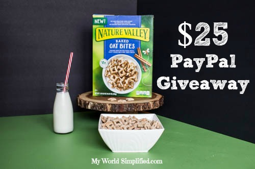 Natures Valley giveaway