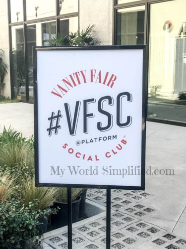 Oscar Week with Vanity Fairs Social Club
