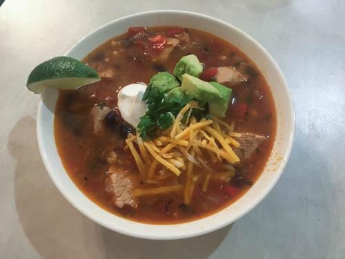 Chicken Tortilla Soup-4