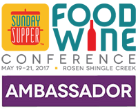 A Retreat for me and my blog at the Food Wine Conference #FWCon