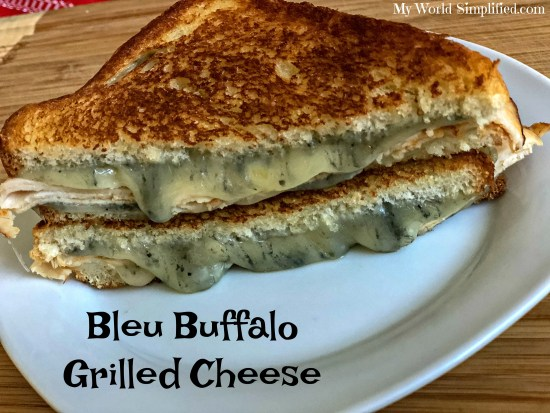 Bleu Buffalo Grilled Cheese