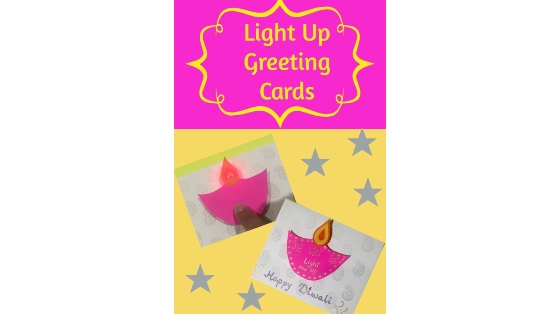 Paper Circuit Light Up Greeting Card