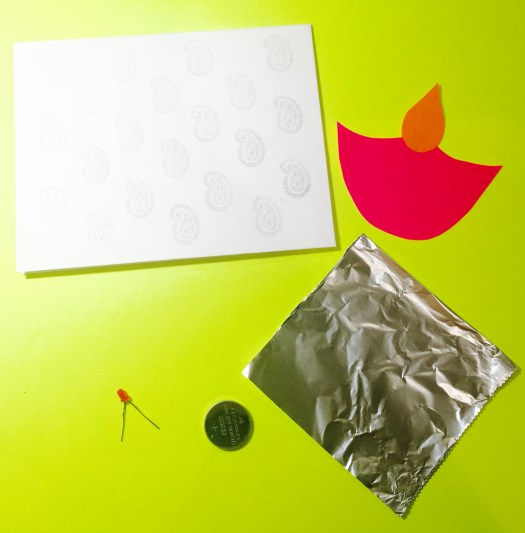 The Materials for card