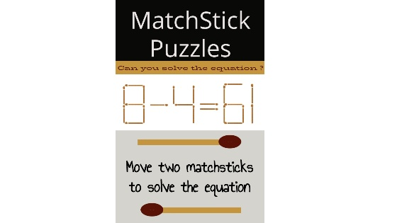 8-4=61 matchstick puzzle