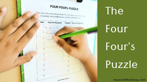 The Four Four's puzzle