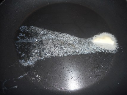 butter poached eggs 001