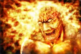 THE MONSTER WHO HAD FIRE 1