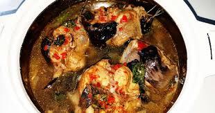 A RECIPE FOR NIGERIAN CATFISH PEPPER SOUP 1