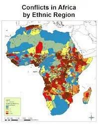 AFRICAN ETHNIC CONFLICT - BY OGUNLEYE OLUWAKOREDE 1