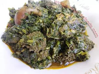 A RECIPE FOR AFANG SOUP 1