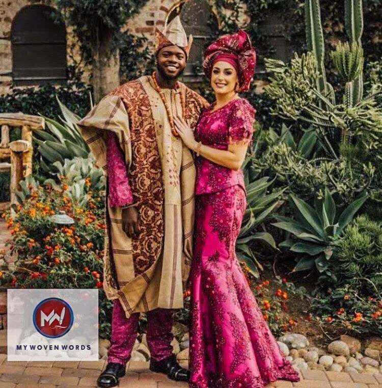 Kevin Olusola and his wife Leigh Weissman on their wedding day