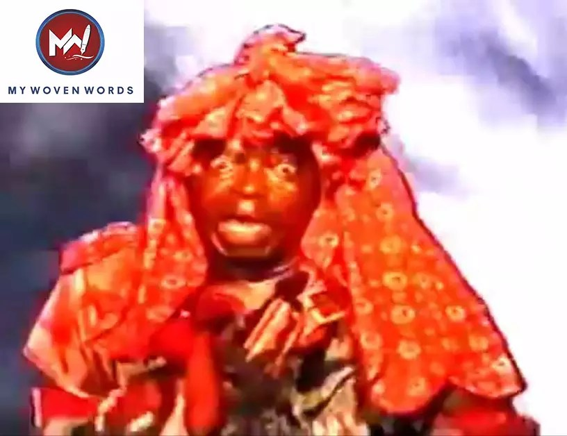 Chief Lere Paimo as Onikoyi in his Epic Onikoyi Movie in the 1980s
