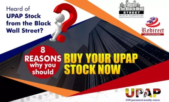 8 Reasons why you should buy your UPAP Stock now- My Woven Words