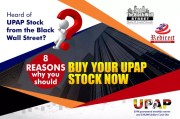 8 Reasons why you should buy your UPAP Stock now
