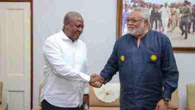 Photo of 'Rawlings sealed my decision on Naana Jane' – Mahama reveals