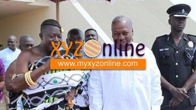 Photo of Otumfuo praises Mahama for heeding his advice