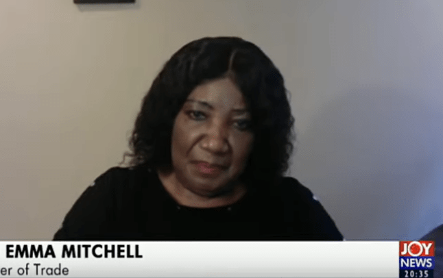 Photo of Why Emma Mitchell (Former Minister of Trade under Rawlings) resigned from her position