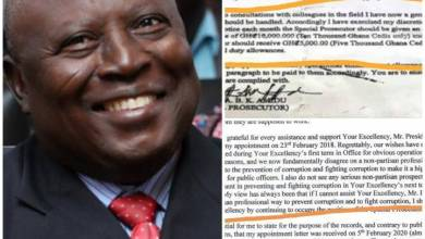 Photo of (((BREAKING NEWS))) Exposed! See the Letter that has exposed Martin Amidu
