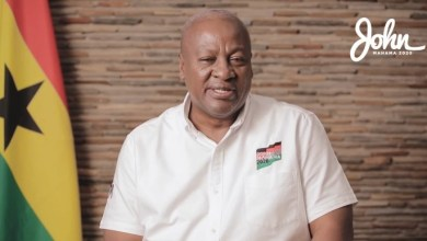 Photo of John Mahama begins 'Hard Talk', interacts with random people