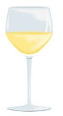 יין לבן גוף מלא