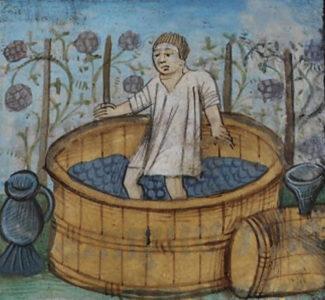 יין בימי הביניים