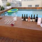 יין ובריכה