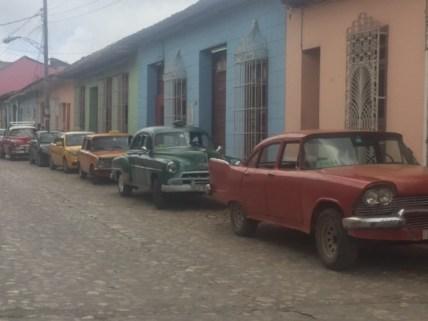 Street parking in Trinidad