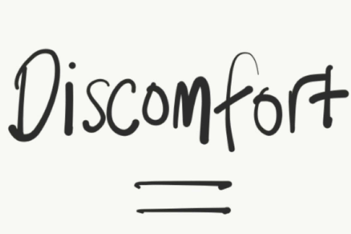 Mombbatical Mindset: Discomfort