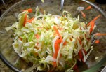Slaw to add on top of tacos