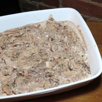 Pumpkin Patch Ice Cream Cake - myyellowfarmhouse.com