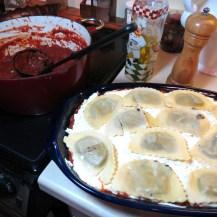 9 - Mushroom Ravioli Lasagna - My Yellow Farmhouse 015