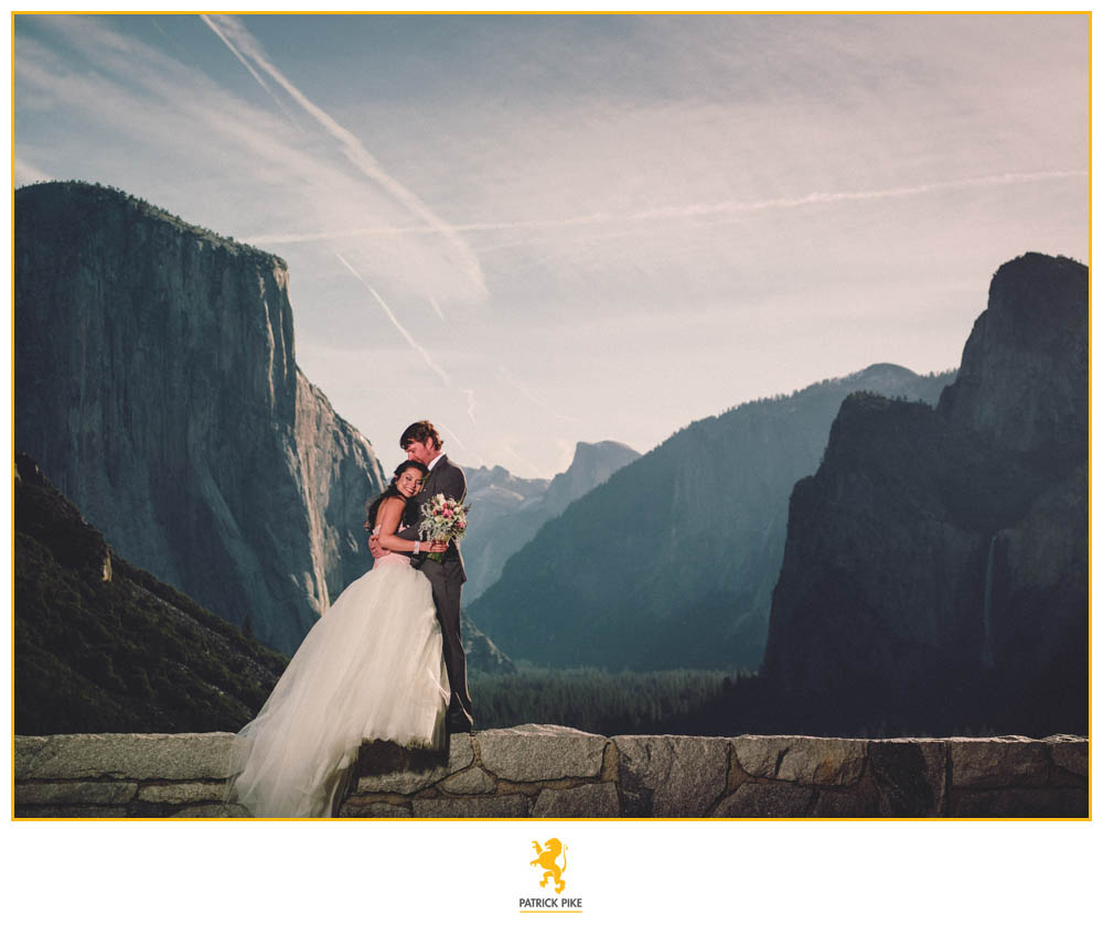 Tina and Nathans Tunnel View Elopement  My Yosemite Wedding  The Yosemite Wedding Experts