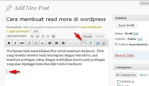Ngedit Blog di wordpress