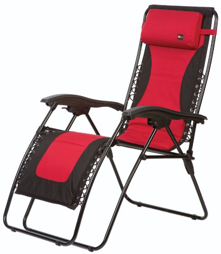 zero gravity patio chair xl high second hand faulkner laguna style dual red padded recliner