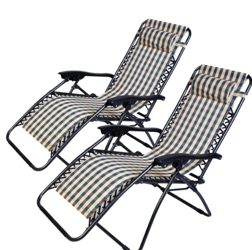 zero gravity chair 2 pack covers for weddings amazon outsunny recliner lounge stripe of