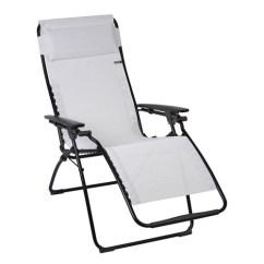 Lafuma Futura Xl Zero Gravity Chair Graco Owl High Recliner Black Steel Frame With Natural Lfm3056 6900 Ecume Batyline Fabric
