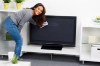 How to Clean LCD TV Screen and Make Your New TV Or Monitor ...
