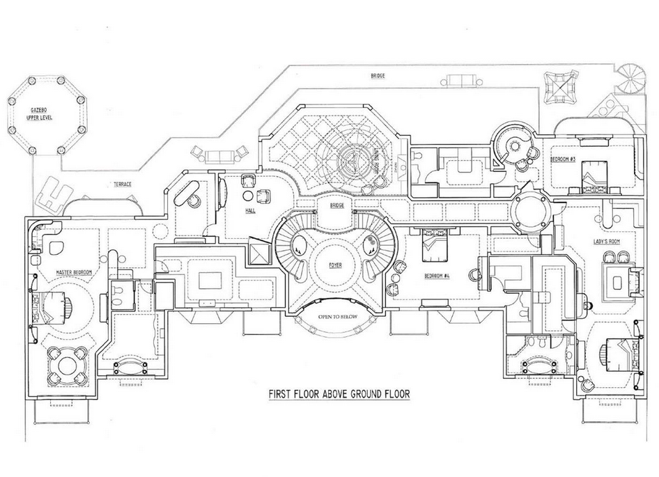 Renderings Of A French Chateau In Nigeria By D'Alessio