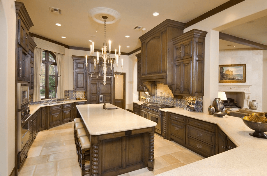 kitchen pantries for sale cabinets com stunning mediterranean mansion in houston, tx built by ...